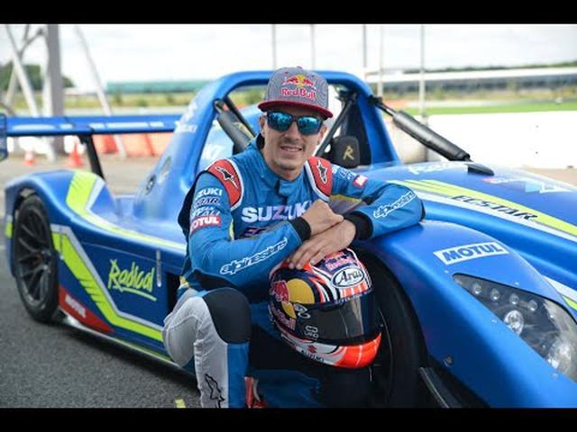 画像: Maverick Viñales tests the Suzuki powered Radical SR3 (Full Version) youtu.be