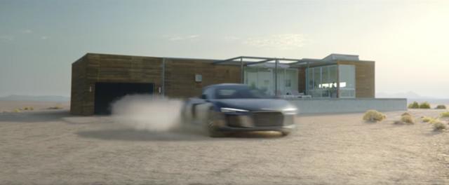 画像: R8でゴォ〜っとばかりに家を飛び出します。