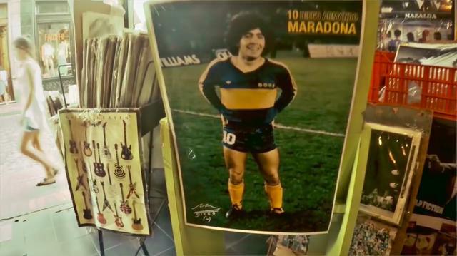 画像: アルゼンチンの永遠のヒーロー、といったらディエゴ・マラドーナですね。永遠の悪童(笑)ってカンジでもありますけど。 www.youtube.com