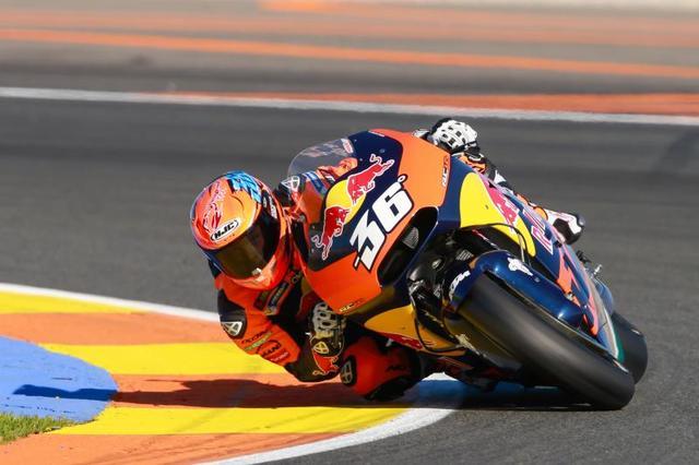 画像: 注目のミカ・カリオが駆るKTM RC16は残念ながら完走ならず・・・。フル参戦の来季、KTMがどこまで上位に食い込むか、こちらも来年度の見どころです! photos.motogp.com