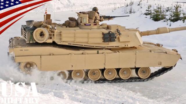 画像: 戦車の氷上ドリフト走行・M1戦車&レオパルト2戦車 - Tank Drifting on Ice - M1 Abrams & Leopard 2 youtu.be