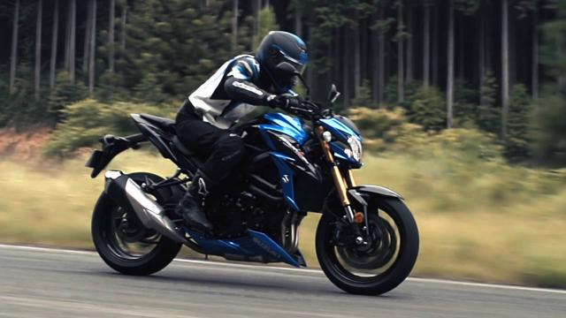 画像: 2017 Suzuki GSX-S750 Official Video youtu.be