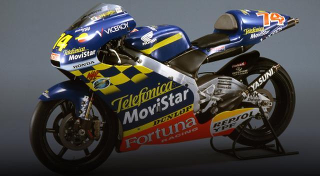 画像: ホンダNSR250 世界GPフル参戦2年目の加藤大治郎が、年間11勝という最多記録(タイ)でワールド・チャンピオンに輝いた、チーム・テレフォニカ・モビスター・ホンダ・グレシーニのマシン。このモデルは、最後のワークスNSR250でもある。 www.suzukacircuit.jp