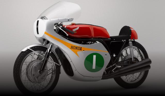 画像: ホンダRC164 4ストロークマシンで活躍した、第一期ホンダGP活動期のマシン。RC164(DOHC4気筒)は、1963年の250ccワークスマシンで、エースのジム・レッドマンはマン島250ccライトウェイトTTで優勝したほか、鈴鹿で行われた最終戦日本GPでも優勝し、ライダー&メーカーのダブルタイトルを獲得した(※今回はエンジン始動を予定)。 www.suzukacircuit.jp