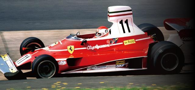 画像: フェラーリ312T 1975年に投入。ニキ・ラウダが5勝を記録し初のドライバーズチャンピオンを獲得。チームメイトのクレイ・レガッツォーニも1勝し、コンストラクターズチャンピオンも獲得した。 www.suzukacircuit.jp