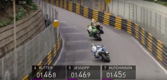 画像: ガードレール覆われたコースを、猛スピードで攻めるマシン! www.youtube.com