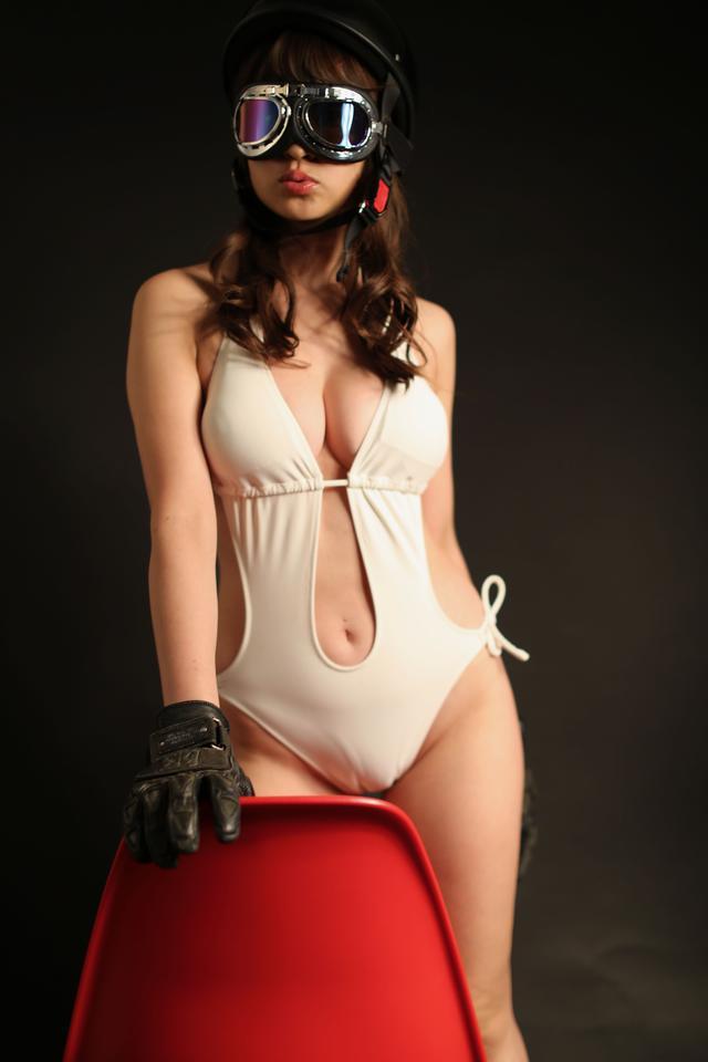 画像3: グラビア【ヘルメット女子】FROZEN vol.08