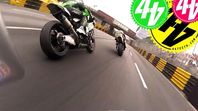 画像: Onboard with Peter Hickman at Macau Grand Prix youtu.be