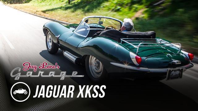 画像: Steve McQueen's 1956 Jaguar XKSS - Jay Leno's Garage youtu.be