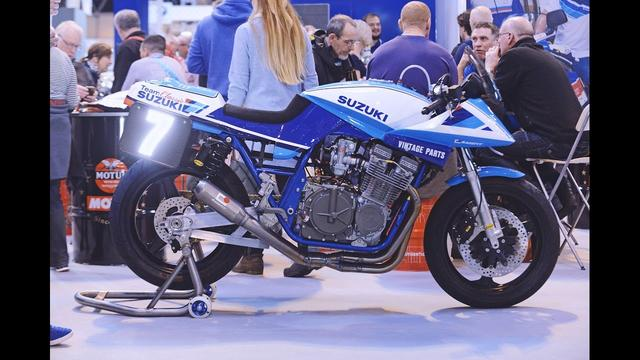 画像: Team Classic Suzuki Katana Build At Motorcycle Live youtu.be