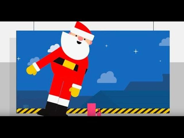 画像: Santa Tracker: Back to Work youtu.be
