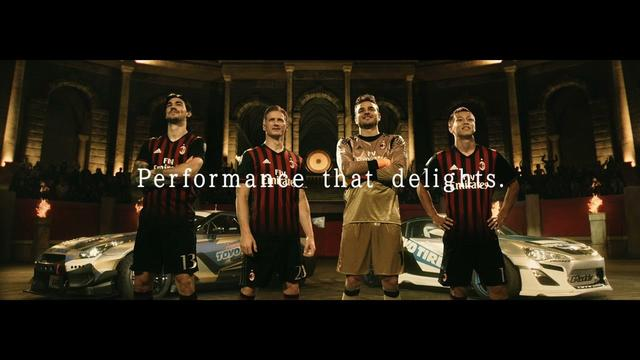 画像: AC Milan vs. Drift Cars | TOYO TIRES 90sec. youtu.be