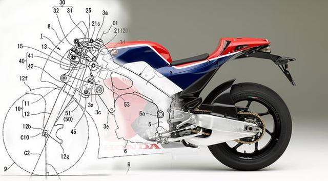 画像: Honda's Hossack Forks On a Superbike?
