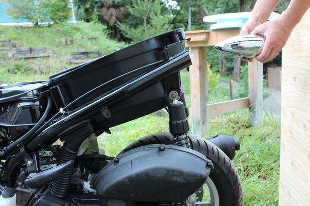 画像: fitting the tail light (Click image to jump to the original source.) orm-web.net