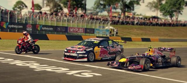 画像1: 【動画】異種レースバトルでは、どのスーパーマシンが速い?