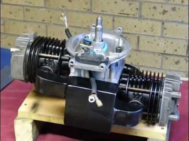 画像: Lawn Mower conversion , Single to twin cylinder youtu.be