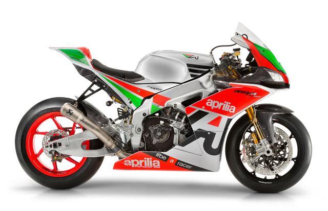 画像: 市販車ながら、MotoGPマシンでおなじみのニューマティック・バルブを採用するアプリリアRSV4 R FW-GP。 www.aprilia.com