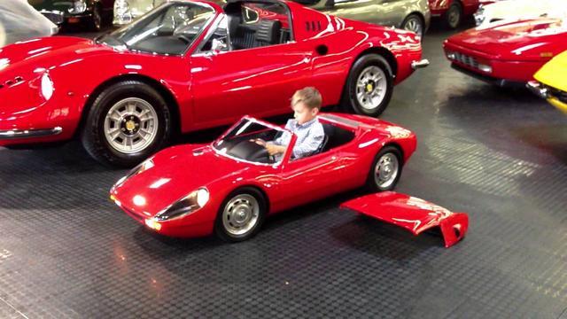 画像: Porsche 904 Carrera GTS electric kid car test drive youtu.be