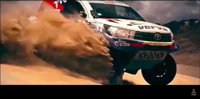 画像: 砂漠を激走するダカール・マシンたち! そこには生命の躍動がありました! www.youtube.com