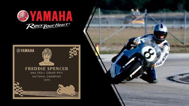 画像: Freddie Spencer | 2016 Yamaha Wall of Champions Inductee youtu.be