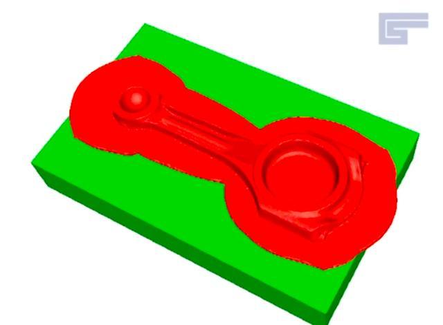 画像: 熱間鍛造に使う型の製造についても、動画内では紹介しています。こちらはピストンとコンロッドの間の、コンロッドの設計の画面ですね。 www.youtube.com