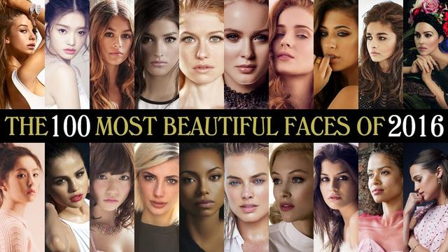 画像: The 100 Most Beautiful Faces of 2016 youtu.be