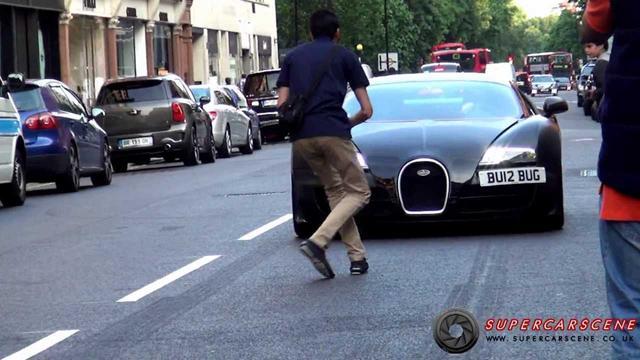 画像: Selfish Photographer ANNOYS Bugatti Owner www.youtube.com