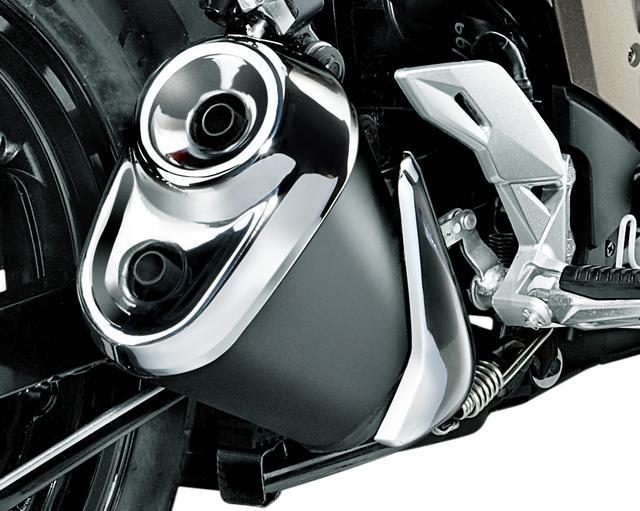 画像2: 250ccに引けをとらないデカさを備えた本格派