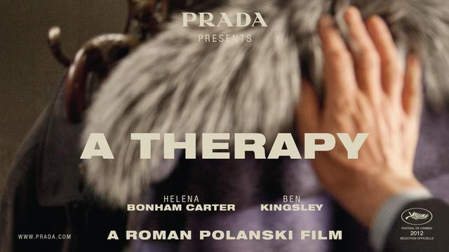 "画像: PRADA presents ""A THERAPY"" www.youtube.com"