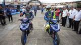 画像: Rossi and Viñales in Action at the 2017 'Yamaha GP' Event youtu.be