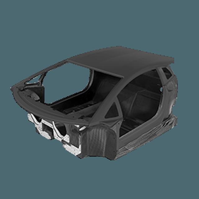 画像: 【モノコック】カーボンファイバーやそれのコンポジットの使用は、メイド・イン・サンタガタ・ボロニューエゼの的確なエクストリーム・ドライビングを提供するAventador S Coupéの特徴です。Aventador S Coupéのシングルピースのモノコックは、非常に軽いだけでなく、いまだかつて達成したことなかった耐久性を保証します。 www.lamborghini.com