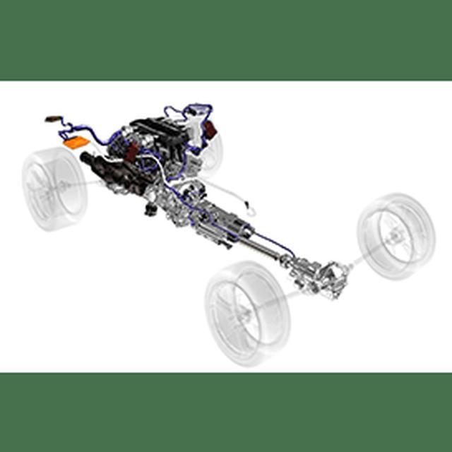 画像: 【4 ホイールドライブ】Aventador S Coupé の全輪駆動システムは、すべての新しいアクティブシステム、特にリアホイールにトルクを多く分散させる Rear-wheel Steering (リアホイール・ステアリング) と一緒に動作することでその能力が最大限発揮されるように最適化されています。これにより、安全性や運転のしやすさを損なうことなく、さらにスポーティなフィーリングを楽しむことができます。 www.lamborghini.com