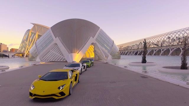 画像: Lamborghini Aventador S Dynamic Launch in Valencia www.youtube.com