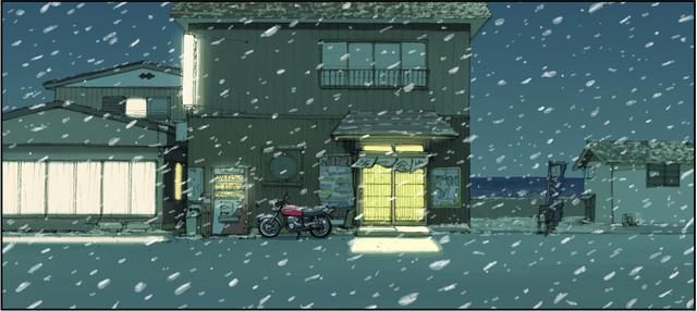 画像: 雪は降り続け、彼女はウチに泊まることになった