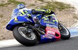 画像: チャンピオンナンバーの「1」を付けて、2001年シーズンを走ったK.ロバーツJr.(スズキ)。固定ゼッケンをビジネスツールとすることが当たり前になった昨今では、ゼッケン1の重みは軽くなってしまいましたね・・・。 alpinestarsinc.com