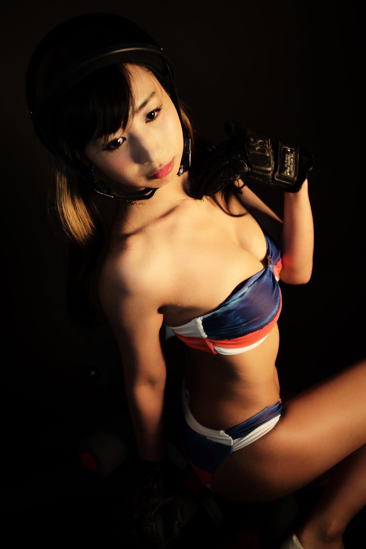 画像1: グラビア【ヘルメット女子】Rogue One 37
