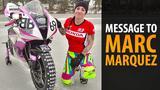 画像: Message to Marc Marquez - GIRL ON ICE youtu.be