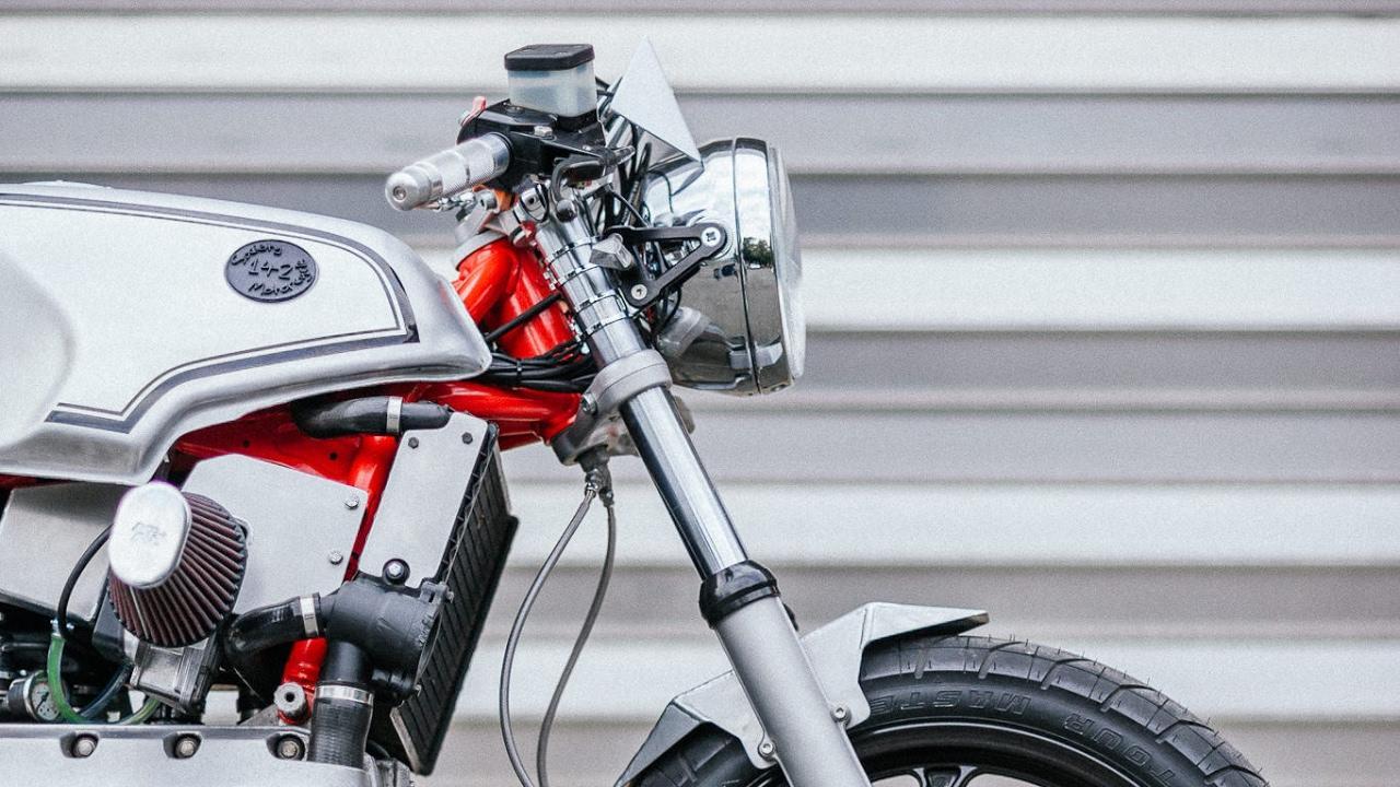 画像: Custom BMW K100 by Society 142 Motorcycle www.youtube.com