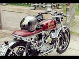 画像: Custom Moto Guzzi V35 by Ireful Motorcycles www.youtube.com
