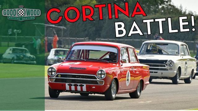 画像: BTCC Champions' Epic Cortina Battle | Goodwood Revival youtu.be