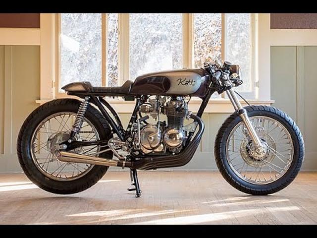 画像: Honda CB400 Custom Cafe Racer by Kott Motorcycles www.youtube.com