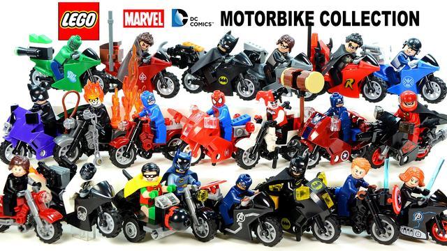 画像: LEGO® Avengers Batman Motorcycle Collection Marvel & DC Super Heroes youtu.be