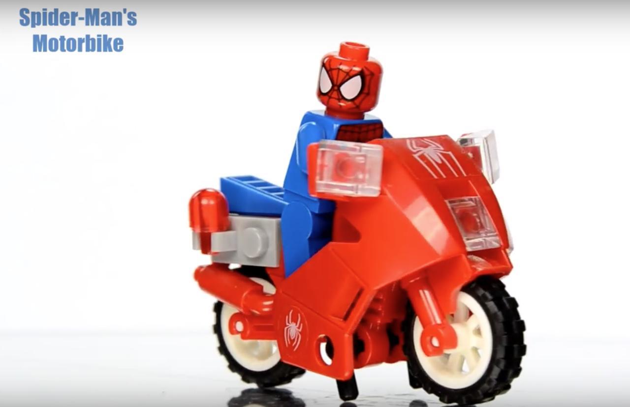 画像9: 【動画】おもちゃ屋さんのショーケースに入ってたら確実にマジマジ見ちゃう!2大アメコミのDCコミックスとマーベル・コミックキャラクターたちのモーターバイクコレクションが可愛いすぎる♥︎