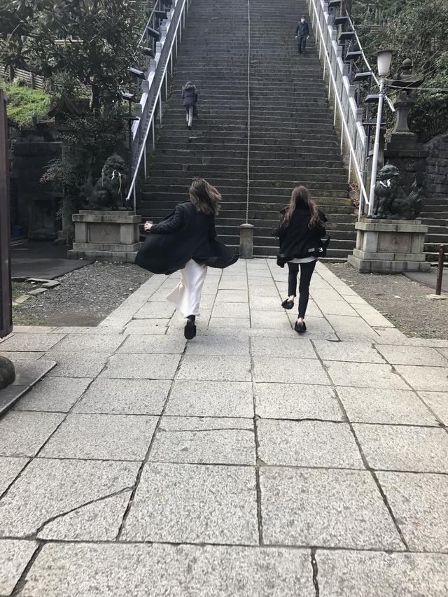"""画像8: 【ロレンス女子部 男坂頂点への道!】ロレンス2周年を記念して、愛宕神社""""出世の階段""""を一気駆け上がりチャレンジ!!"""