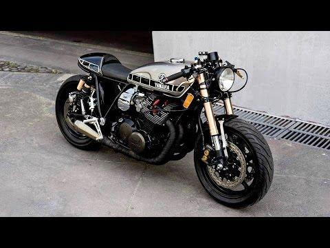 画像: Yamaha XS 1100 Cafe Racer by ZDR Custom Moto www.youtube.com