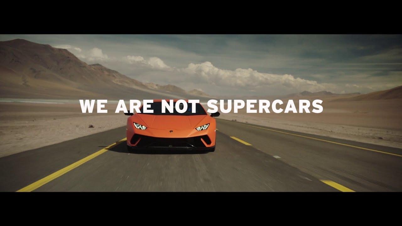 画像: We are not supercars, We are Lamborghini www.youtube.com