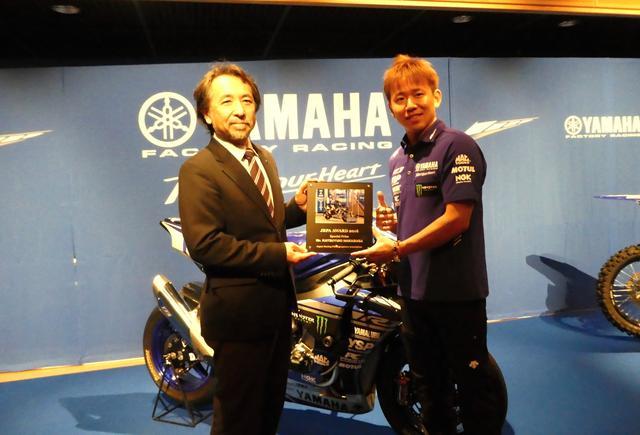 画像1: 特別賞は全日本ロードレース選手権 JSB1000クラスに参戦する中須賀克行選手