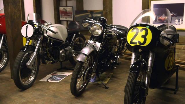 画像: John Surtees shows his garage to Paul Hollywood. youtu.be