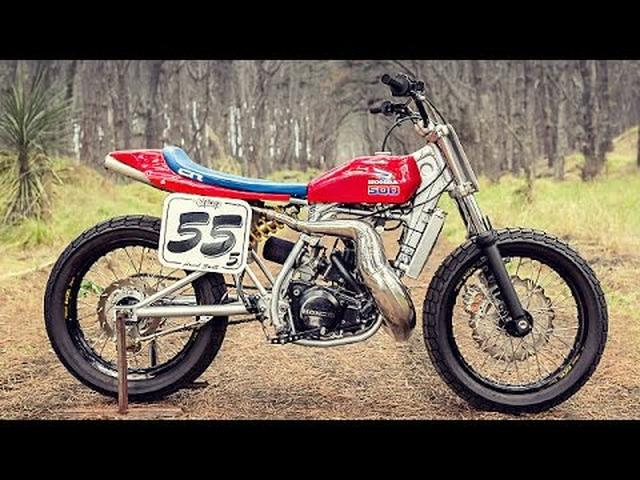画像: Custom Honda CR500 by Adam Hedges & Earnest Co. www.youtube.com