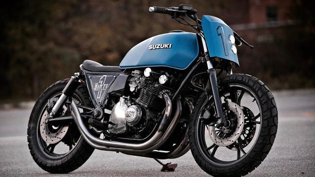 画像: Suzuki GS1100 Custom Rebuild by IronCity Motorcycle Co. www.youtube.com